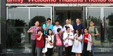 bwin国际娱乐公司迎接泰国饲料界朋友参观考察